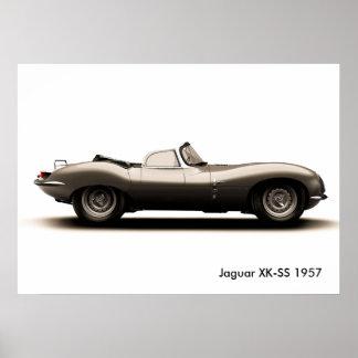Imagem clássica do carro para o poster pôster