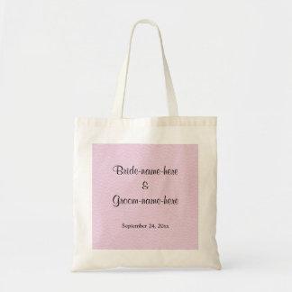 Imagem cor-de-rosa do couro, design Wedding Bolsa Tote
