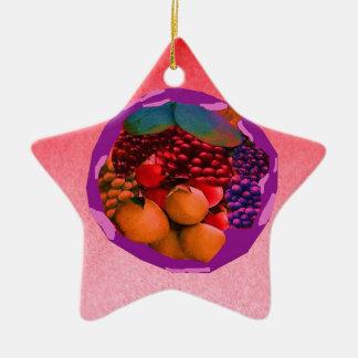 imagem da comida de gtapes3.JPG para cozinhas, Ornamento De Cerâmica Estrela