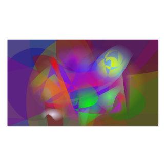 Imagem da flor cartoes de visitas