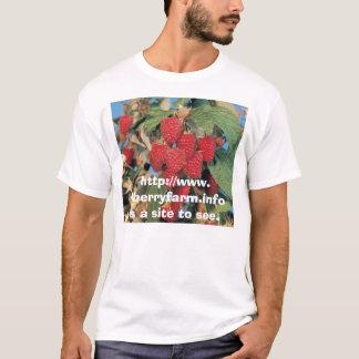 Imagem da framboesa, camiseta