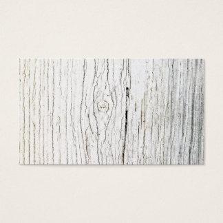 Imagem da madeira pintada velha cartão de visitas