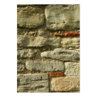 Imagem da parede de pedra cartão de visita grande