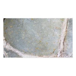 Imagem da parede de pedra modelo cartões de visita