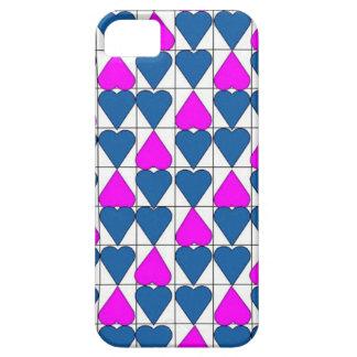 imagem de corações iPhone 5 capas