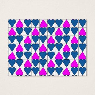 imagem de corações cartão de visitas