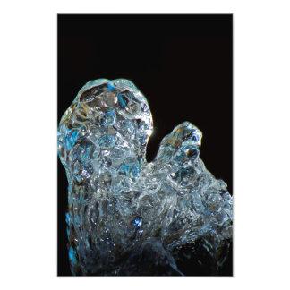 Imagem de cristal das belas artes da água impressão de fotos