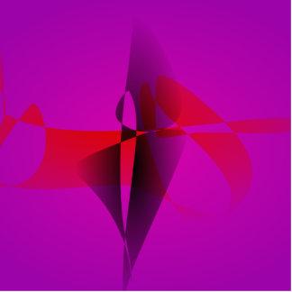 Imagem de Digitas espontânea do abstrato do roxo Fotoesculturas