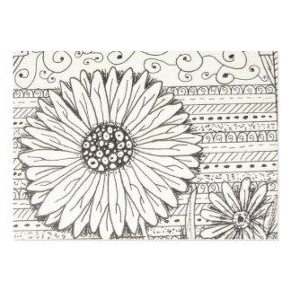 imagem de Flor Cartão De Visita Grande