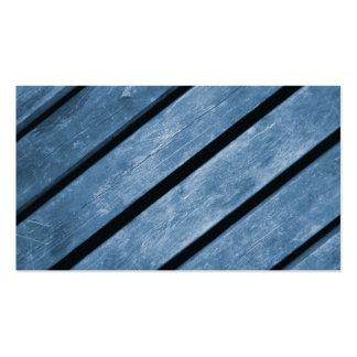 Imagem de pranchas de madeira azuis cartão de visita