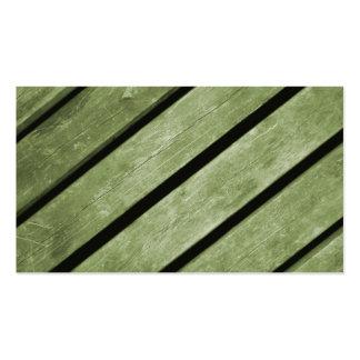 Imagem de pranchas verdes da madeira cartão de visita