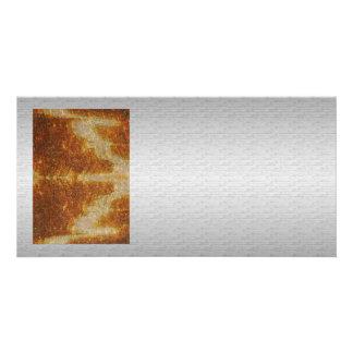 Imagem de prata macio do gráfico da base n Art101 Cartão Com Foto