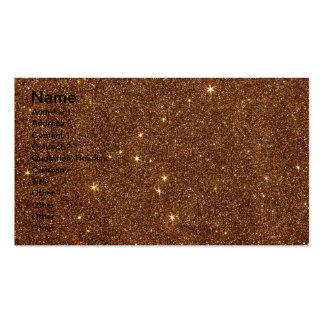 Imagem do brilho de cobre na moda cartão de visita