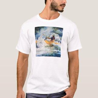 Imagem do caiaque camisetas
