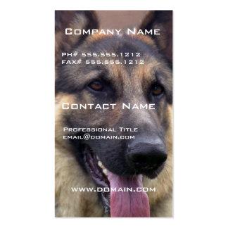 Imagem do cartão de visita do german shepherd