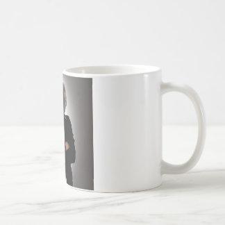 Imagem do conceito de um businesswoman. caneca de café