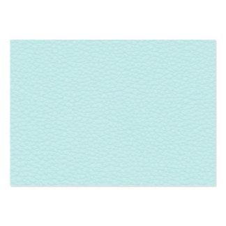 Imagem do couro claro de turquesa cartão de visita grande