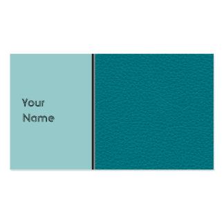 Imagem do couro da cerceta cartão de visita