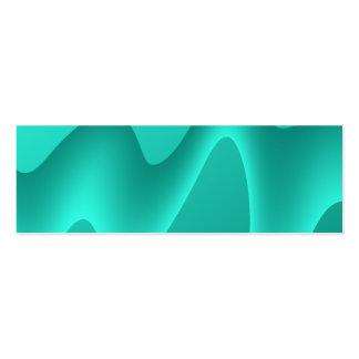 Imagem do design do abstrato da cerceta cartão de visita skinny
