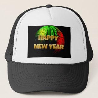 Imagem do feliz ano novo boné