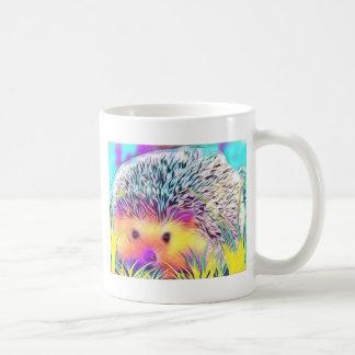Imagem do ouriço caneca de café