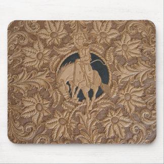 Imagem do tapete do rato de couro utilizado ferram mouse pad