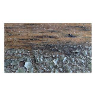 Imagem do Woodgrain e do verniz Cartão De Visita