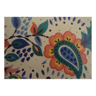 imagem flor em forma de coracão cartao de visita