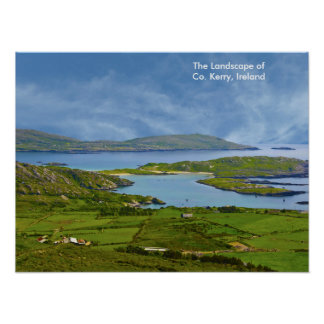 Imagem irlandesa para o poster
