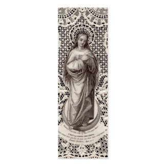 Imagem religiosa do vintage para a arte da corredi cartão de visita skinny