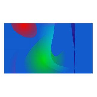 Imagens de flutuação na arte abstracta azul