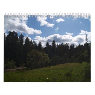 Imagens do calendário da natureza