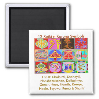Íman 12 designs curas de Reiki n Karuna Reiki