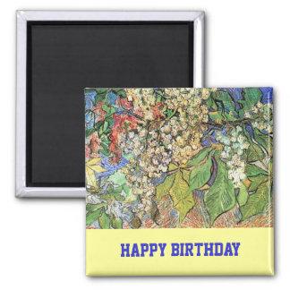 Íman A castanha de florescência ramifica Vincent van