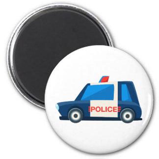 Íman A polícia preto e branco brinca o ícone bonito do