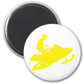 Íman Amarelo-Snowmobiler