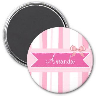 Íman Arco cor-de-rosa personalizado e ímã conhecido das