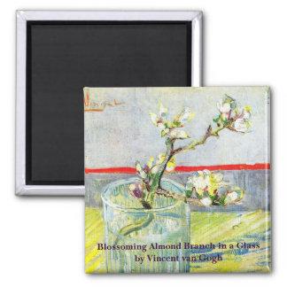 Íman Arte de Van Gogh, ramo de florescência da amêndoa