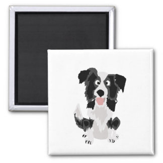 Íman Arte engraçada do cão de filhote de cachorro de