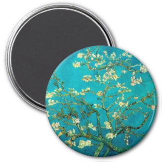 Íman Arte floral de florescência da árvore de amêndoa