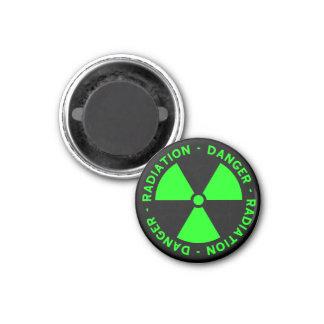Íman Aviso verde da radiação