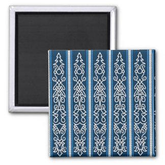 Íman Azul do teste padrão de Viking