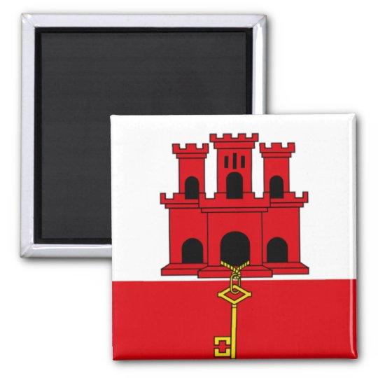 Íman Bandeira de Gibraltar