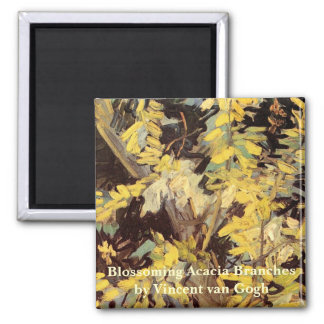 Íman Belas artes de Van Gogh, ramos de florescência da