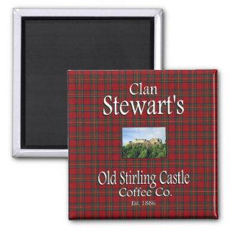 Íman Café velho Co. do castelo do Stirling de Stewart