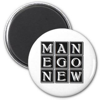 Íman carré magique new man now
