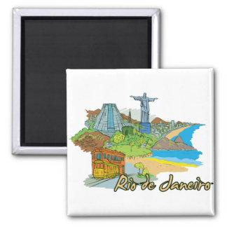 Íman Cidade famosa de Rio de Janeiro, Brasil