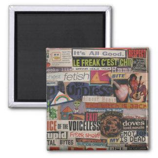 Íman Colagem #12 da imagem do compartimento & do cartão