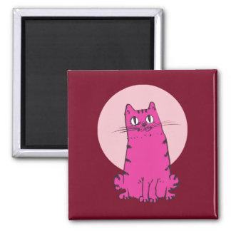 Íman desenhos animados doces do gato de gato malhado