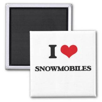 Íman Eu amo Snowmobiles